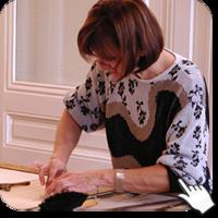 Cours en atelier loisir de vitrail et vitraux prés de Lyon en Rhône-Alpes