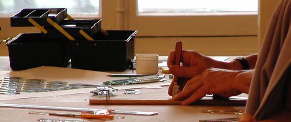 Formation professionnelle de vitrail et vitraux près de Lyon